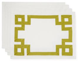 Ann GishMariana Key Placemats (Set of 4)