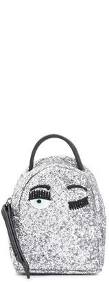 Chiara Ferragni mini glitter backpack