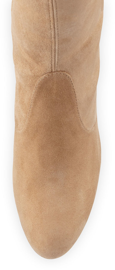 Stuart Weitzman Highland Suede Over-The-Knee Boot 6