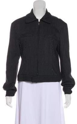 Versace Vintage Wool-Blend Jacket