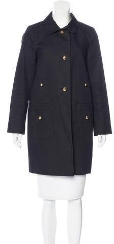 Kate Spade Kate Spade New York Oversize Knee-Length Coat