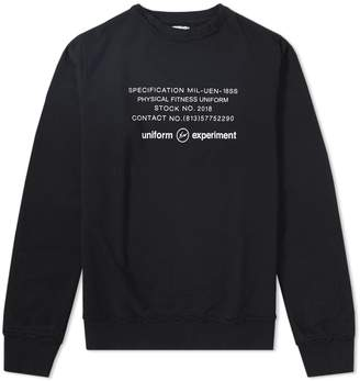 Uniform Experiment Inside Out Physical Fitness Crew Sweat