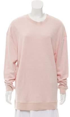 IRO Aloba Linen-Blend Knit Sweatshirt w/ Tags