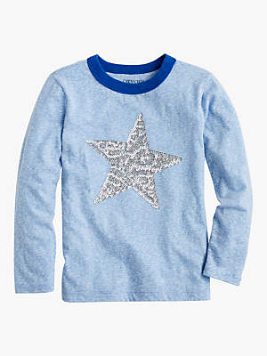 J.Crew crewcuts by Girls' Sequin Star T-Shirt