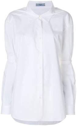 Prada elbow tab shirt