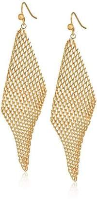 Jules Smith Designs Mini Mesh Wave Drop Earrings