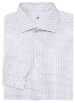 Dunhill Classic-Fit Check Dress Shirt