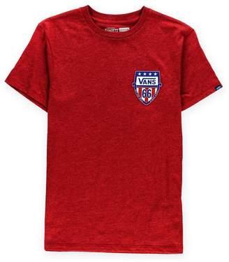 Vans Mens Stars And Bars Graphic T-Shirt S