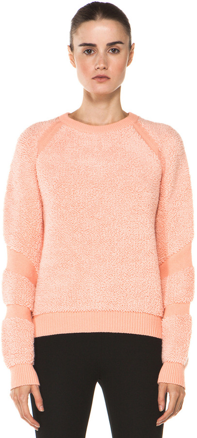 Chloé Sweatshirt in Medium Orange