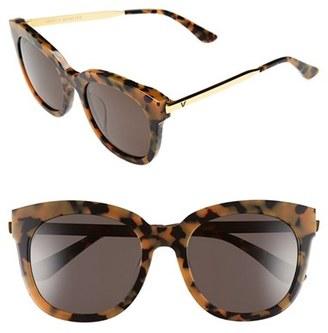 Women's Gentle Monster 'Cuba' 55Mm Sunglasses - Tortoise $255 thestylecure.com