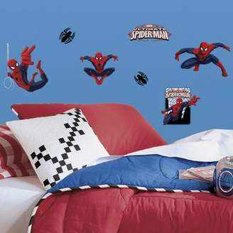 Spiderman Roommates Childrens Ultimate Wall Stickers, Childrens Wall Stickers, Childrens Wall Decals