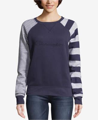 Champion Heritage Fleece Striped Sweatshirt