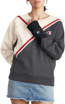 Champion Colorblock Reverse Fleece Sweatshirt