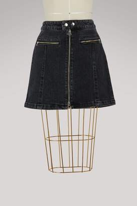 Rag & Bone Isabel zip-up skirt