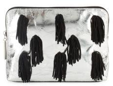 3.1 Phillip Lim31 Minute Metallic Leather Cosmetic Bag