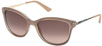 GUESS 7469 57F 7469 Butterfly Sunglasses Lens Category 3 Size 56m