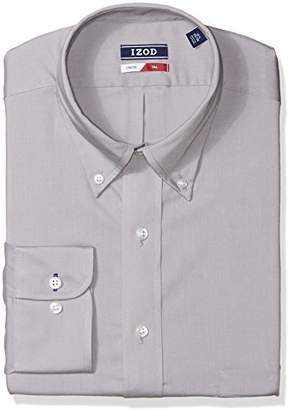 Izod Men's Big and Tall Dress Shirts Stretch Tall Fit Solid