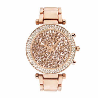 ROCAWEAR Rocawear Womens Rose Goldtone Bracelet Watch-Rl10639rg1-228 $45 thestylecure.com
