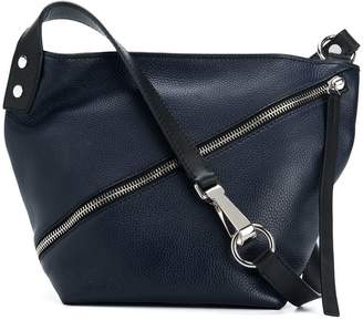 Proenza Schouler Small pebbled zip hobo bag