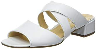 Gabor Women's Fashion Mules, White Weiss 21