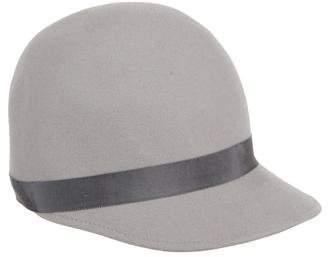 Black Fleece Rabbit Felt Hat