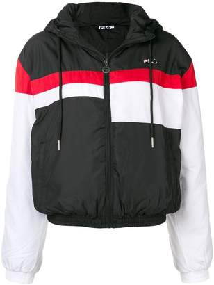 Fila hooded bomber jacket