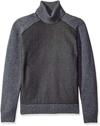 French Connection Men's Melton Knit
