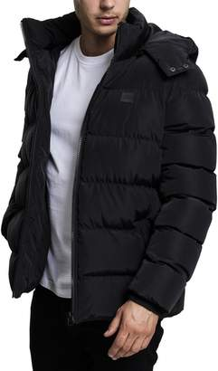 Urban Classics Hooded Puffer Winter Jacket - M