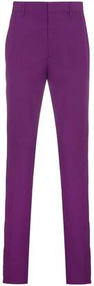 Calvin Klein Purple Side Stripe Trousers