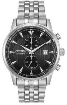Citizen Eco-Drive Stainless Steel Bracelet Watch