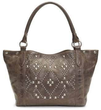 Frye Melissa Native Sun Studded Leather Shoulder Bag