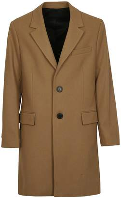 Ami Alexandre Mattiussi Single Breasted Coat