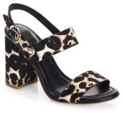 Joie Lakin Fur Slingback Sandals