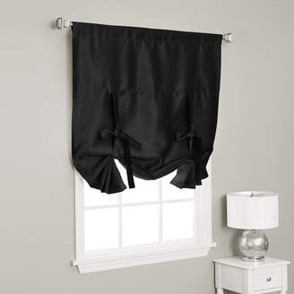 Best Home Fashion Best Home Fashion, Inc. Solid Blackout Tie-Up Shade