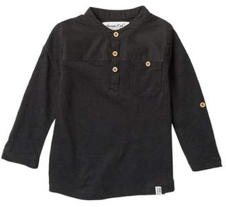 Sovereign Code Long Sleeve Henley Tee (Baby Boys)
