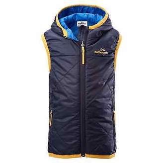 Bosley Kathmandu Kids' Reversible Hooded Water Repellent Insulated Winter Vest