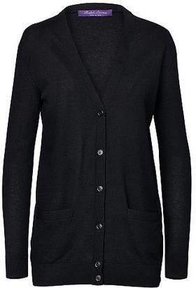 Ralph Lauren Cashmere V-Neck Cardigan $1,290 thestylecure.com