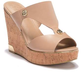 ca004e45c87 GUESS Wedge Heel Women s Sandals - ShopStyle