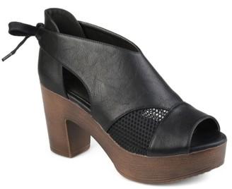 Journee Collection Sorly Platform Sandal