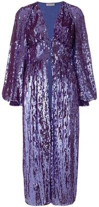 ATTICO sequined bell sleeve coat