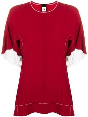 Marni stitched detail blouse