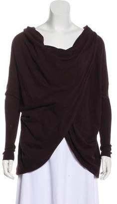 AllSaints Cowl Neck Long Sleeve Sweater