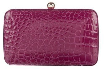 Tory BurchTory Burch Embossed Leather Clutch