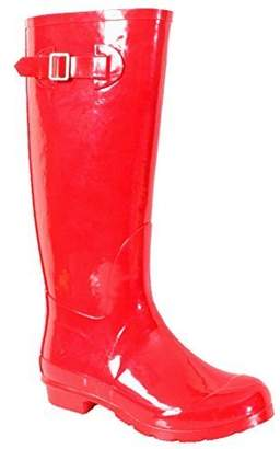 NOMAD Women's Hurricane II Shiny Rubber Rain Boot