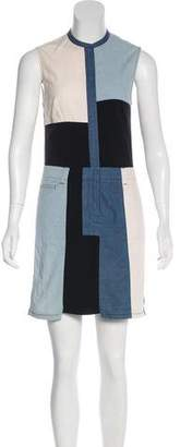 3.1 Phillip Lim Paneled Sleeveless Dress