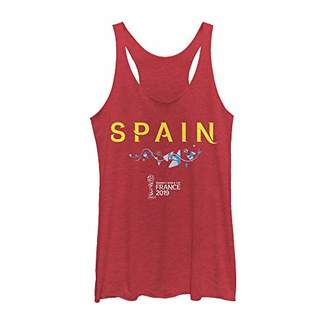 Fifth Sun Officially Licensed FIFA Spain Junior's Racerback Tank