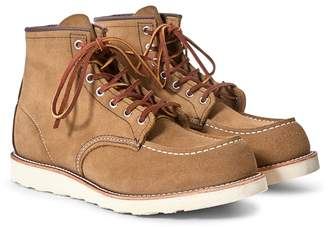 Red Wing Shoes Classic Moc Toe Leather Olive
