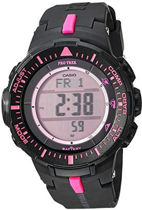 Casio ' PRO Trek' Quartz Resin Watch