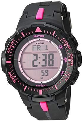Casio 'Pro Trek' Quartz Resin Watch