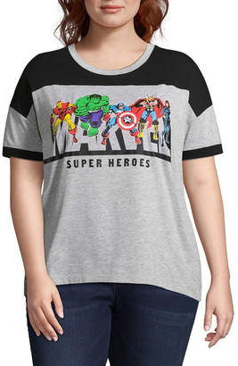 Freeze Marvel Tee - Juniors Plus